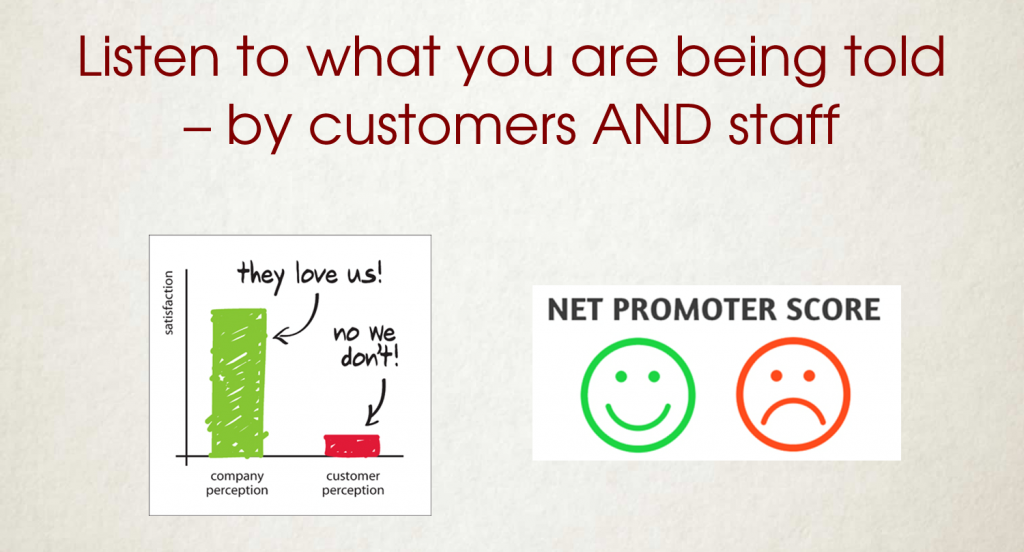 What are your customers saying about you?